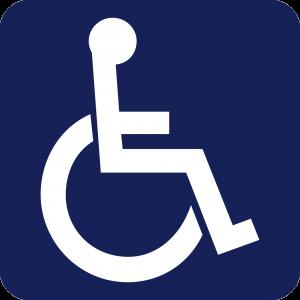 handicap, sign, wheelchair