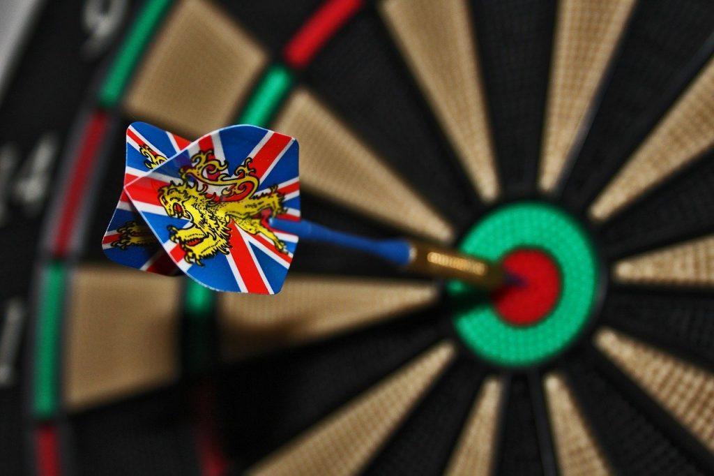 darts, target, bull's eye